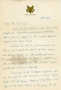 7.13.46 Private Hess Letter Home