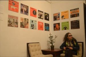 Melinda Hess at Tikva-Records Pop-Up Space